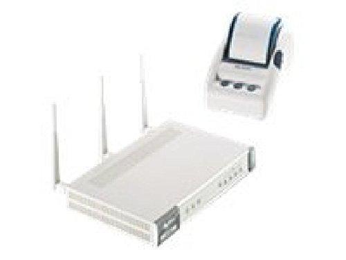 ZyXEL N4100 - Sin hilos Router - conmutador de 4 puertos -