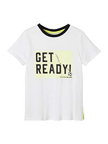 Vertbaudet - Camiseta deportiva para niño blanco 14 años