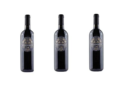 UNMAREDIVINO - Cannonau di Sardegna NERO SMERALDO 2018-3 bottiglie 0,75 l