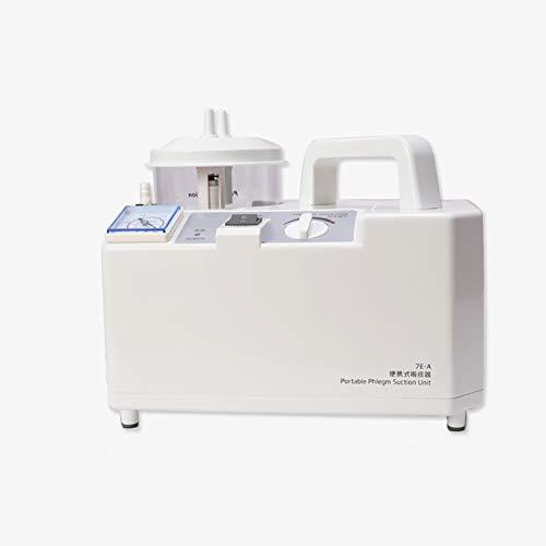 QX Absaugpumpe - Tragbar Medizinisches Gerät zur Absaugung - Elektrische Absaugpumpe - Sekretsauger - Hauspflege - Tischgerät