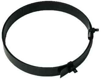 UNIQANTIQ HARDWARE SUPPLY Black Steel Trunk Dust Banding 3 4 Sold by The Foot Tape for Trunk product image