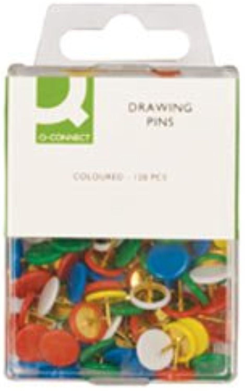 Q Connect Drawing Pins Farbige PK1 20 B004XW5UZ6 | Verkauf