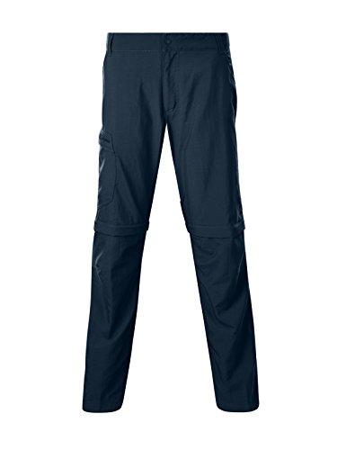 Berghaus Navigator Zip Off 2.0 Pantalon de Marche pour Homme, Homme, 422172MN1, Midnight, 101,6 cm
