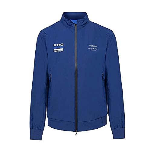 Chaqueta Hackett London Aston Martin Racing Blouson para hombre en azul marino (XL) (XL)