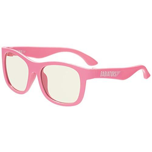 Babiators Gafas de protección de pantalla estilo navegador (niños (6+), rosa pensar