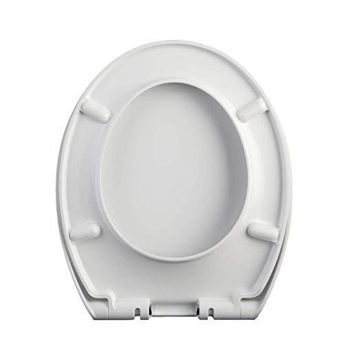 PYROJEWEL. Soft Geschlossener WC-Sitz, WC-Sitz Universal-WC-Sitz Padded langsam und Silent-WC-Sitz for O/U/V-förmige WC