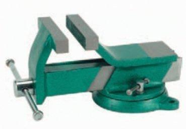 Stahlschraubstock drehbar geschmiedet 150 mm