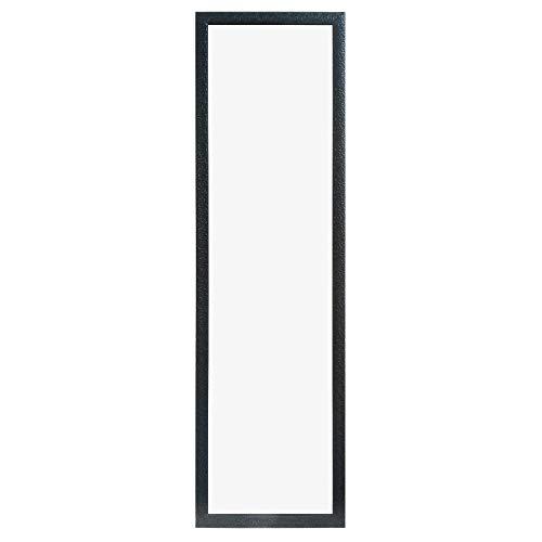 "Beauty4U Full Length Mirror Door Mirror Full Body Dressing Mirror Wall Mounted Hanging for Dorm Home, 50""x 14"", Black"