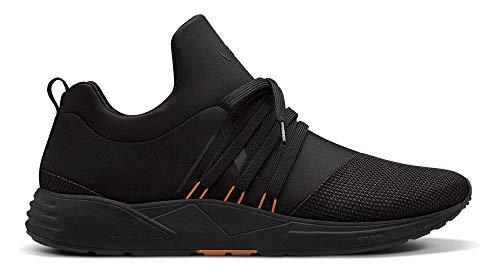 ARKK Copenhagen Raven Mesh S-E15 Sneaker schwarz/orange, Schwarz - Schwarz - Größe: 42 1/3 EU