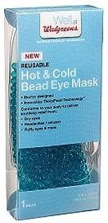 Walgreens Hot & Cold Beaded Eye Mask, 1 ea
