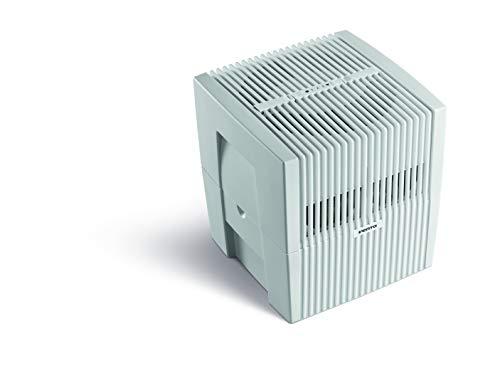 Venta Luftwäscher Original LW25 Luftbefeuchtung und Luftreinigung (bis 10 µm Partikel) für Räume bis 40 qm, Weiß-Grau