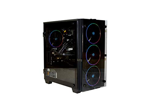 DeepGaming Grakkus - PC Gaming sobremesa (Intel Core i9-9900K, 32GB RAM, 500GB SSD NVMe, 2TB HDD, GTX1650) Sin Sistema