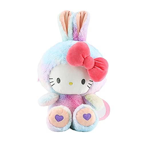 Japan Anime Kawaii Hello Kitty Soft Plush Toy Backpack Fashion Doll Beauty Fluffy Bags Kids Toys Birthday Gifts 30Cm