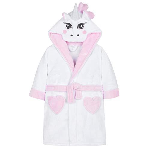 Minikidz 4Kidz kinder nieuwe eenhoorn knuffel fleece dressing jurk met staart