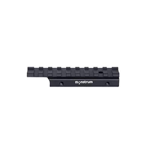 Monstrum Tactical Low Profile Dovetail to Picatinny/Weaver .22 Airgun Rail Adaptor