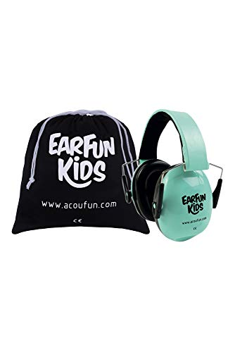 ACOUFUN Casque Anti Bruit EarFun Kids Vert