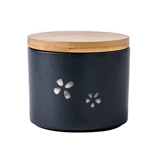GAONAN Keramikversiegelter Tank, Kaffeebohnen, Kaffeepulverspeicher, Vollkorn-Aufbewahrungsbox, geeignet für Zuckerfutter, Kaffeebohnen, Tee Kaffeespeicher (Size : 375ML)
