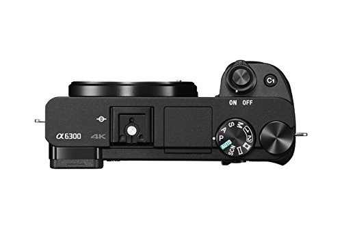 Sony Alpha a6300 Mirrorless Camera: Interchangeable Lens Digital Camera with APS-C,...