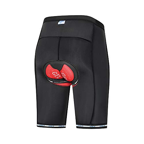 AIPEILEI Men's Cycling Bike Shorts Padded Road Bike Mountain Bike Shorts with Gel Pad