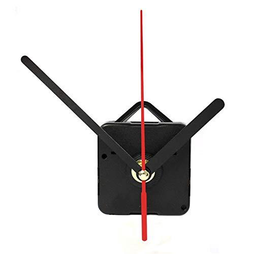 Funk-Uhrwerk mit Uhrzeigerset, Uhrwerk für Wanduhr, zum Basteln, Funkuhr,Wanduhr Uhrwerk Mechanismus Teile (B, 1SET)