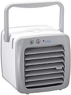 ZHIKE Enfriador de Aire Personal, Mini Aire Acondicionado con USB, Mini Ventilador de Mesa de Escritorio con 3 velocidades Diferentes, Ventilador de enfriamiento para automóvil y Oficina