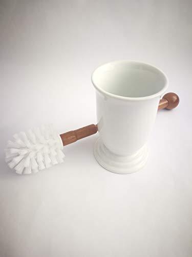 ABC_baño Escobillero Suelo Porcelana Madera Venus Blanco