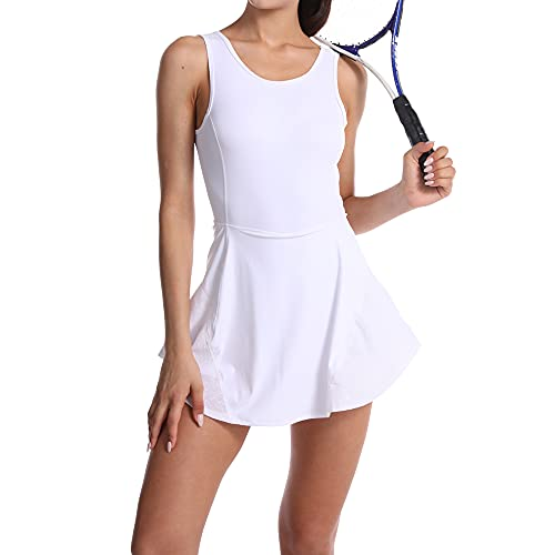 MCEDAR Athletic Tennis Dress for Women Exercise Workout...