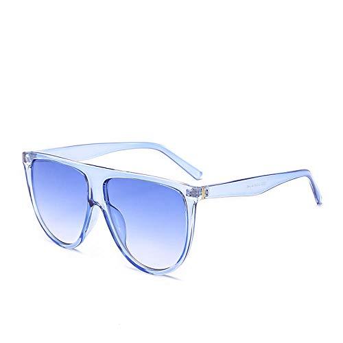 Occhiali da sole piatti Big Frame Occhiali da sole monopezzo Occhiali da sole-AliExpress CL New_blue