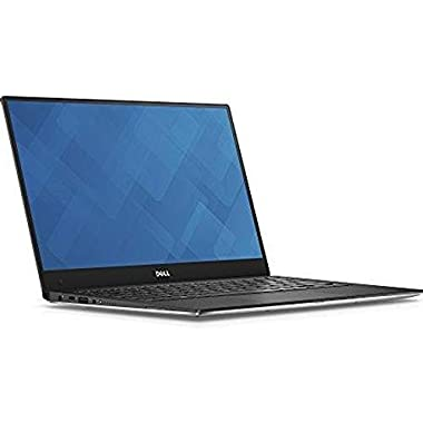 Dell XPS 13 9360 Laptop (13.3″ InfinityEdge Touchscreen FHD (1920×1080), Intel 8th Gen Quad-Core i5-8250U, 128GB M.2 SSD, 8GB RAM, Backlit Keyboard, Windows 10)- Silver
