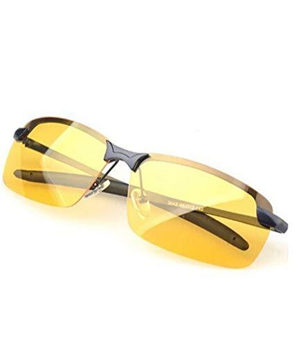 Gearmax® UV400 Nachtsicht Brille Reflexionsarmer Polarisierte Objektiv Sonnenbrillen Brillen Fahren Aufhellenden Schutzbrillen