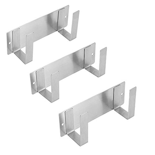 Meijunter Topfdeckelhalter - 304 Edelstahl Wandmontierter Halterung für Topfdeckel,Handliches Küchenzubehör