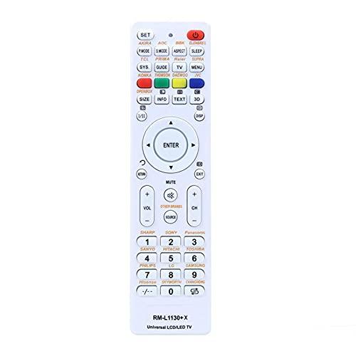 Control de reemplazo del Mando a Distancia de TV Universal para Netflix Smart TV Rm-L1130 + X RM-L113 + 12 RM-L1130 + 8