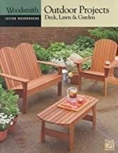 Outdoor Projects: Deck, Lawn & Garden (Custom Woodworking, 9) by Time-Life Books (Editor) (1-Jan-2001) Hardcover
