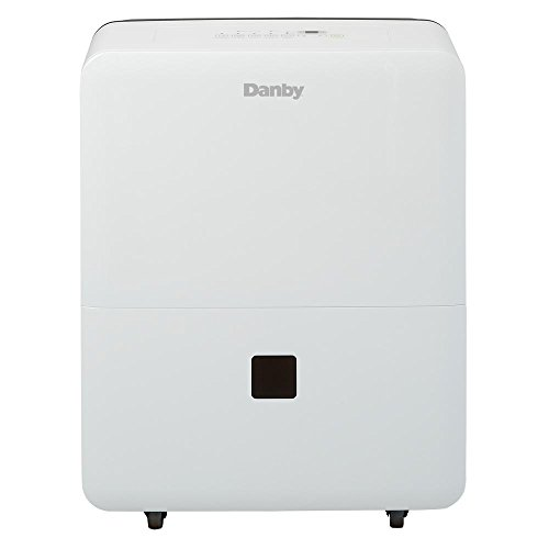 Danby DDR020BJWDB 20 Pint Dehumidifier for Bedroom, Basement, Living Room, White