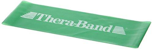 Thera-Band® Loop, grün - stark, 30,5 cm flach liegend
