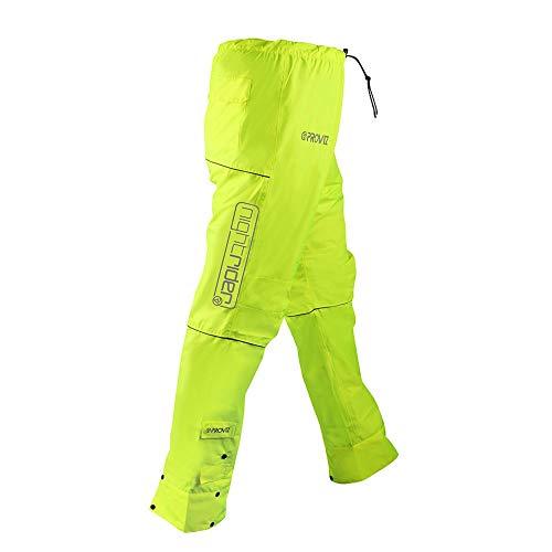 Proviz Womens Nightrider Water Proof Cycling Jacket Yellow US 8UK 12EU 40