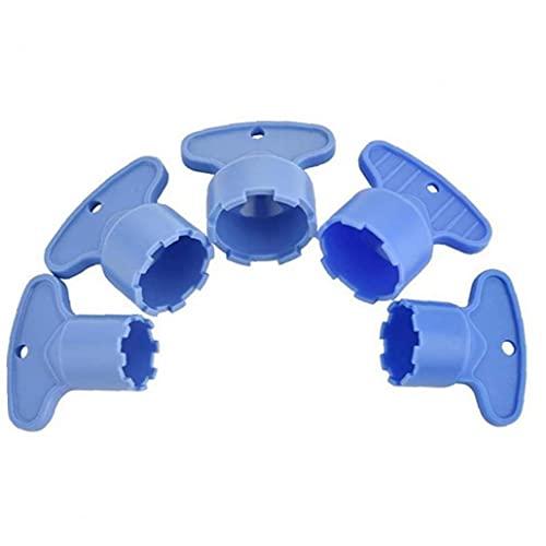Ruluti La Eliminación 5pcs Grifo Clave Aireador De Herramientas De Plástico para M 16,5 18,5 21,5 22,5 24 Herramienta De Línea Grifo para Inflar con Aire Filtro