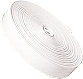 RV Designer E461, Heavy Duty Vinyl Insert Trim, 1 inch Wide, 100 foot Roll, White