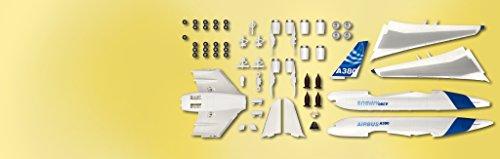 Revell Modellbausatz Flugzeug 1:288 - Airbus A380 Demonstrator easykit im Maßstab 1:288, Level 2, originalgetreue Nachbildung mit vielen Details, Zivilflugzeug, Passagierflugzeug, 06640