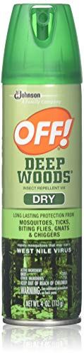 Deep Woods Off Dry Aerosol Insect Repellent