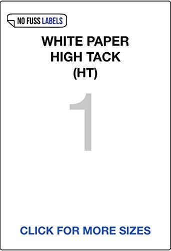 Witboek High-Tack Permanent Lijm. A4-etiketten, Hoeveelheid van 500 vel, Geen zekeringsetiketten (HT). 1/199