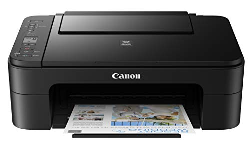 Canon Pixma TS3320 Black, Works with Alexa