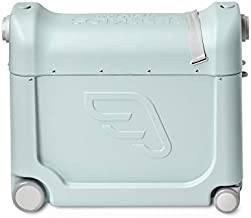 Jetkids by Stokke Kids Suitcase and Portable Bed, Green Aurora