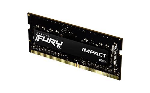 KF432S20IB/16 - Memória 16GB SODIMM DDR4 3200Mhz FURY Impact 1,35V 1Rx8 260 pinos para notebook