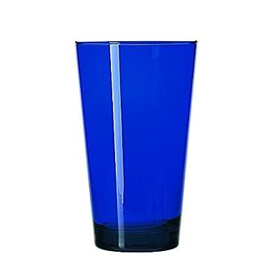 Libbey Glassware 171B Cooler, Cobalt Blue, 17 oz. (Pack of 12)