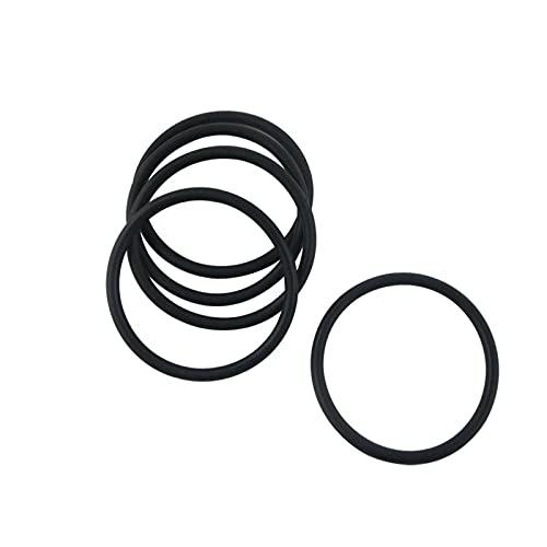 100pcs 3.5mm de espesor con junta tórica de goma Negro Diámetro exterior 24-34mm NBR juntas tóricas arandelas juntas de estanqueidad, 26x19x3.5mm