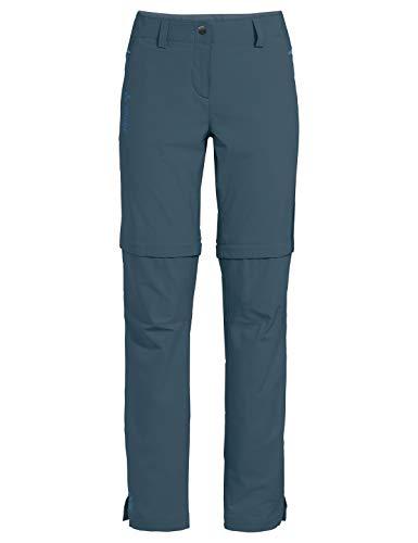 VAUDE Damen Hose Women's Skomer ZO Pants II, steelblue, 38, 42365