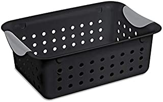 Sterilite Ultratm Small Black Basket (11.0 X 8.0 X 4.0)