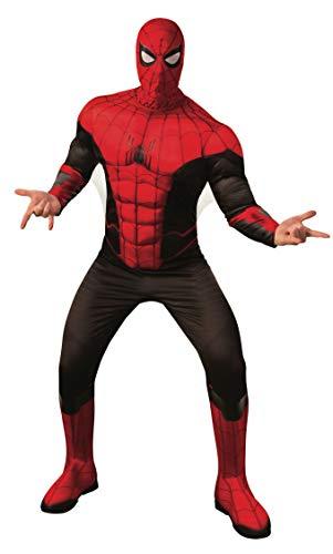 Rubie's Men's Marvel: Spider-Man Far from Home Deluxe Costume, Red/Black, Standard