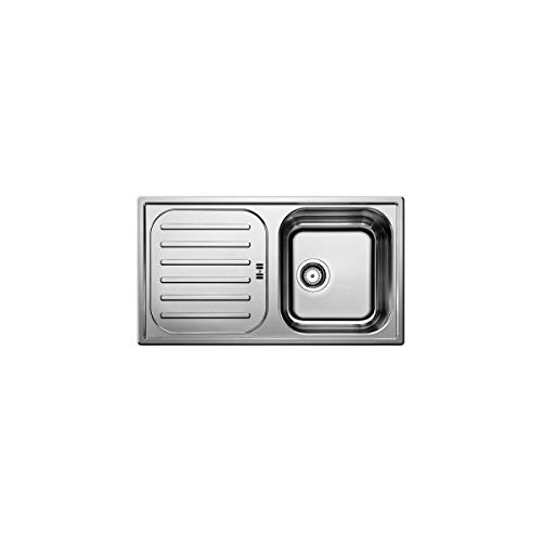 Blanco Flex Pro 45 S Edelstahl-Spüle Naturfinish Küchenspüle Auflagespüle Spülbecken Spültisch